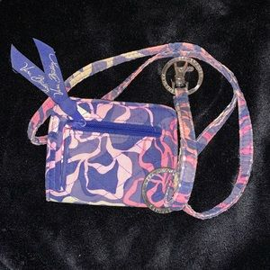 Vera Bradley ID holder/wallet and lanyard!